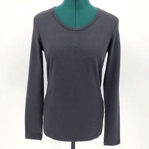 Yest Ykes Basic Cotton Jersey Long Sleeve Tee, 8